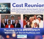 The Love Boat TV Cast Reunion|Stars in the House, Thursday 2/11 at 8PM EST