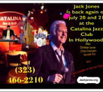 July 20 and 21, 2018 – Catalina Jazz Club