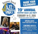 February 14, 2019 – New Port Beach Jazz Party