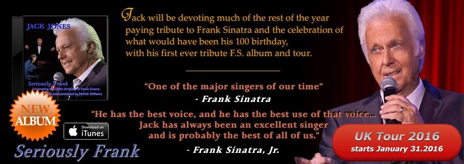 "Jack Jones – ""Seriously Frank"""