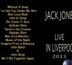 "New CD ""Live in Liverpool 2013,"" just released"